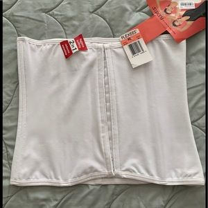 Women's white corset size XL